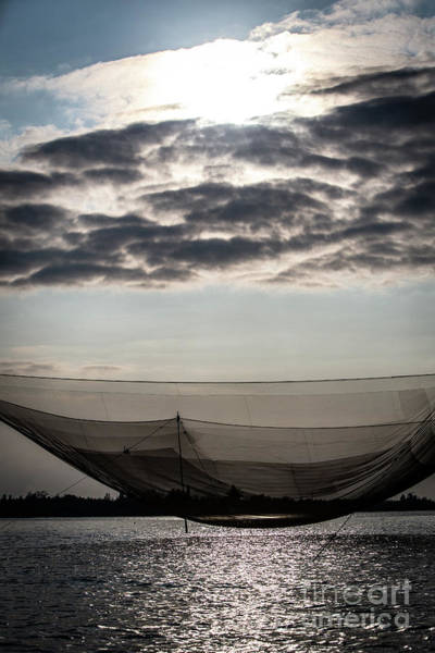 Quang Nam Province Photograph - Commercial Vietnamese Fishing Net by Lisa Top