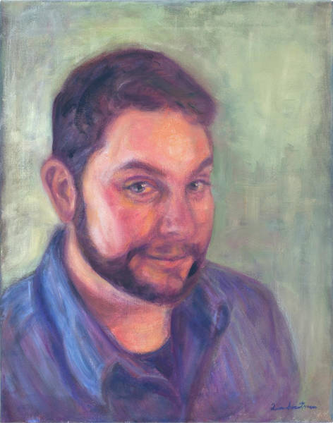 Painting - Commission An Oil On Canvas Portrait Painting by Quin Sweetman