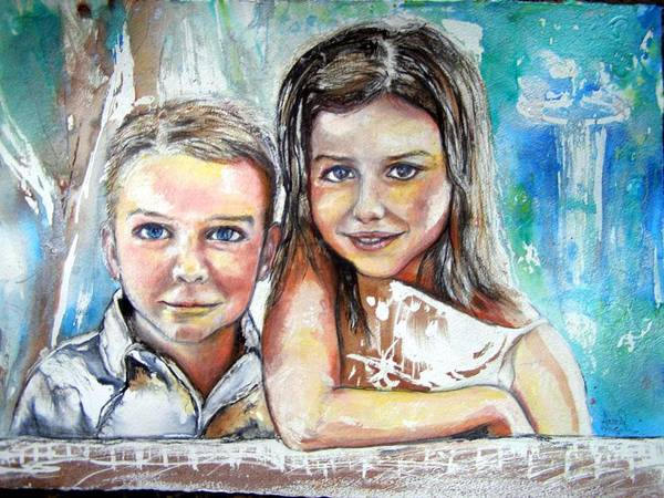 Pastel - Commission Priceless by Anne-D Mejaki - Art About You productions