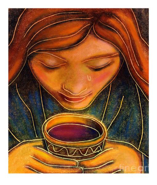 Painting - Communion Cup - Jlcup by Julie Lonneman