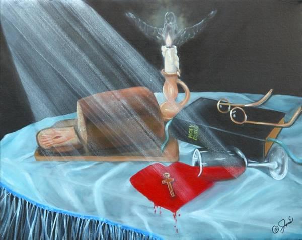 Painting - Communion by Joni McPherson
