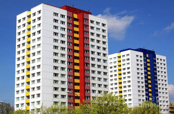 Photograph - Communist Era Architecture East Berlin by John Rizzuto