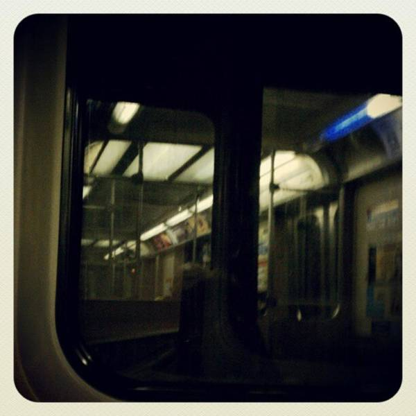 Photograph - Commuter Life Two #chicago  #train by Tammy Winand