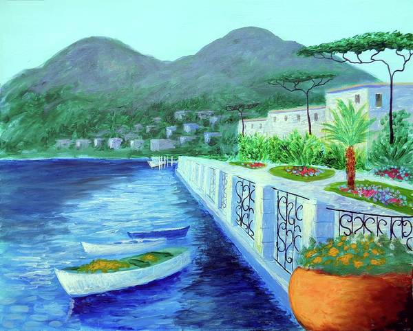 Painting - Como A Vision Of Delight by Larry Cirigliano