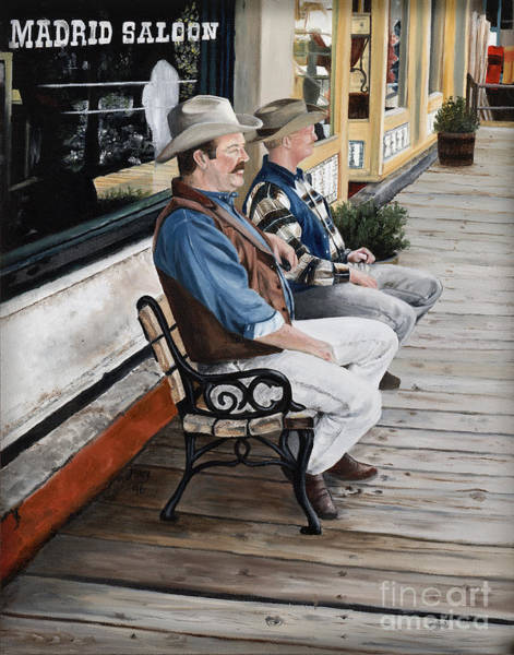 Mary Rogers Painting - Compadres by Mary Rogers