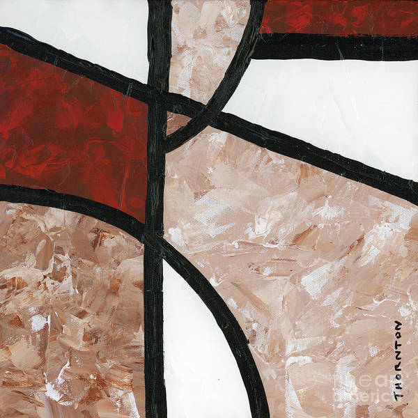 Painting - Compartments Panel 6 by Diane Thornton