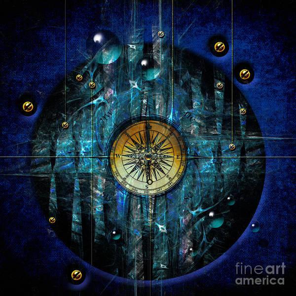 Digital Art - Compass by Alexa Szlavics