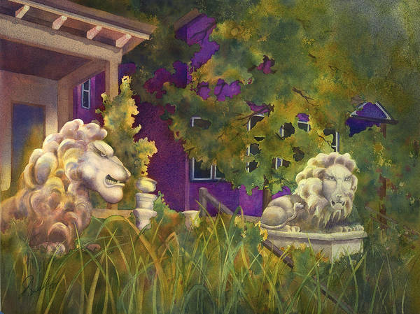 Painting - Complaining Lions by Johanna Axelrod