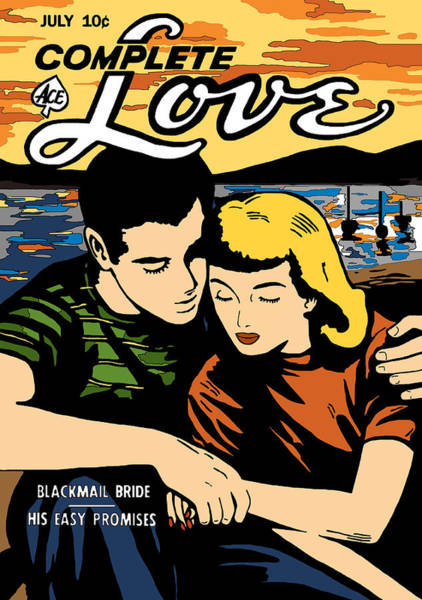 Digital Art - Complete Love 2 Comic Book by Joy McKenzie