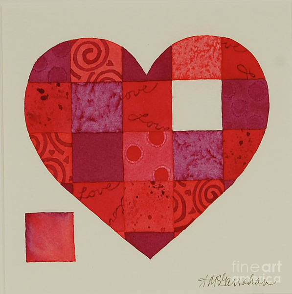 Wall Art - Painting - Complete My Heart by Annette McGarrahan