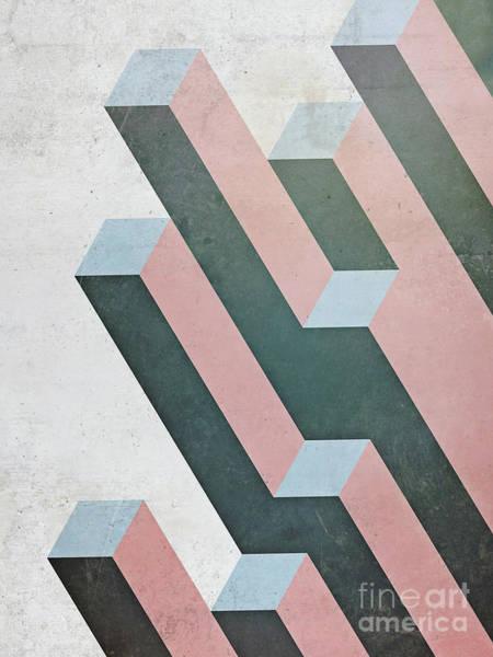 Complex Geometry Art Print
