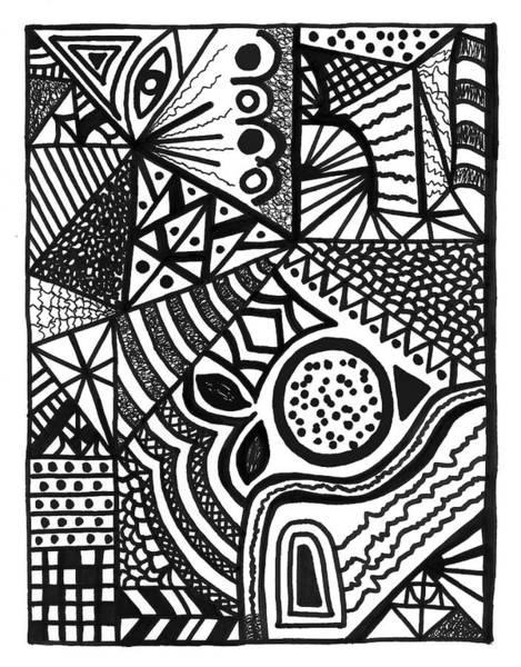 Drawing - Complex Perception by Susan Schanerman