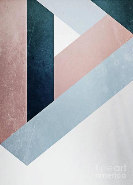 Complex Triangle Art Print