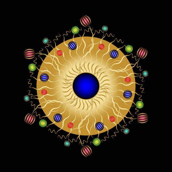 Digital Art - Complexical No 2204 by Alan Bennington