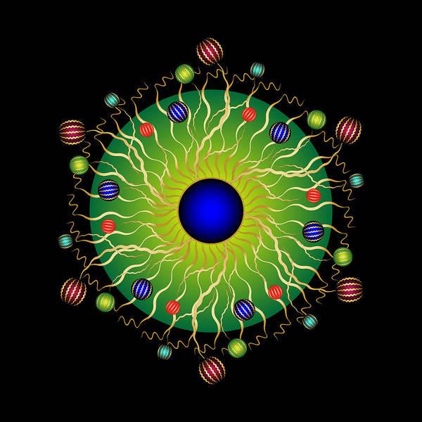 Digital Art - Complexical No 2205 by Alan Bennington