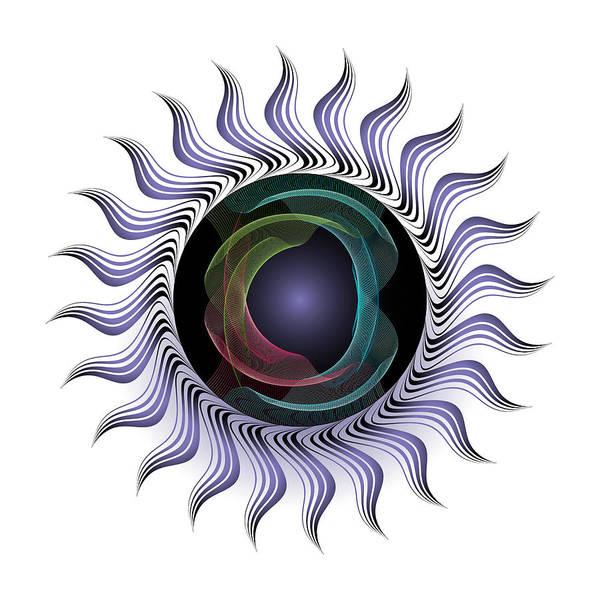 Digital Art - Complexical No 2318 by Alan Bennington