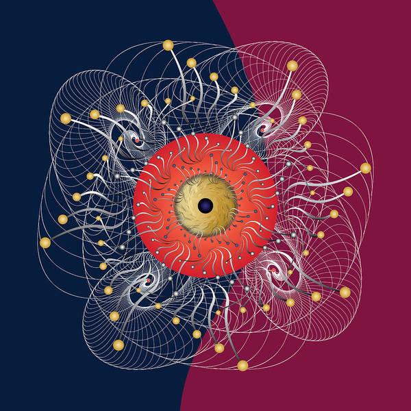 Digital Art - Complexical No 2323 by Alan Bennington