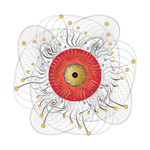 Digital Art - Complexical No 2324 by Alan Bennington