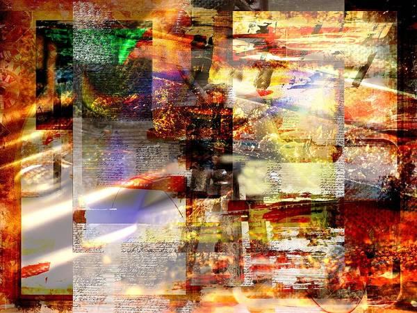 Digital Art - Complicity Of Green by Art Di