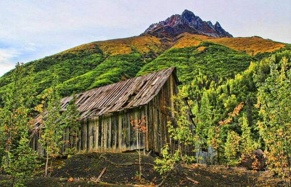 Photograph - Compressor Shack by Fred Denner