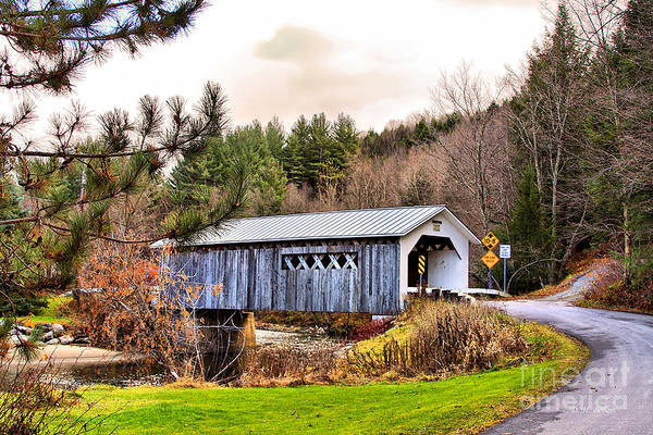 Photograph - Comstock Bridge Montgomery by Deborah Benoit