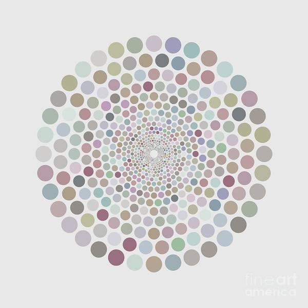 Painting - Vortex Circle - White by Hailey E Herrera