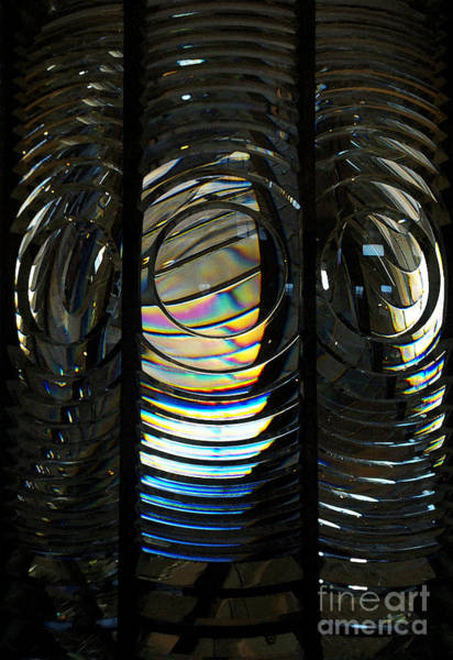 Photograph - Concentric Glass Prisms - Water Color by Linda Shafer