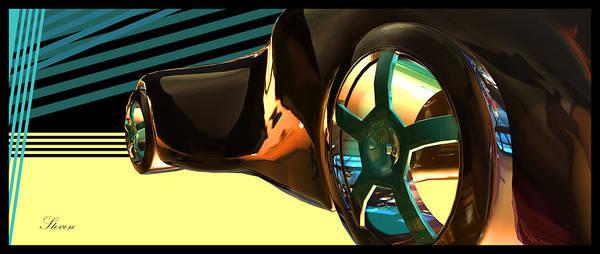 Wall Art - Digital Art - Concept Car 7 by Steven Lebron Langston