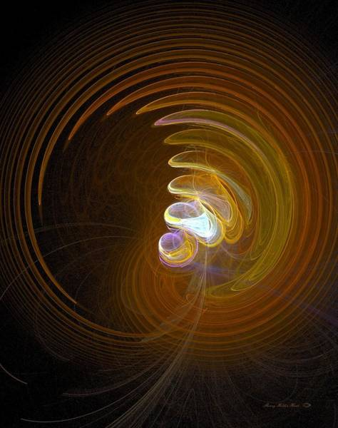Gestural Digital Art - Conception by Sherry Holder Hunt