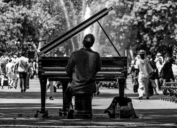 Player Piano Photograph - Concert In The Park by Pixabay