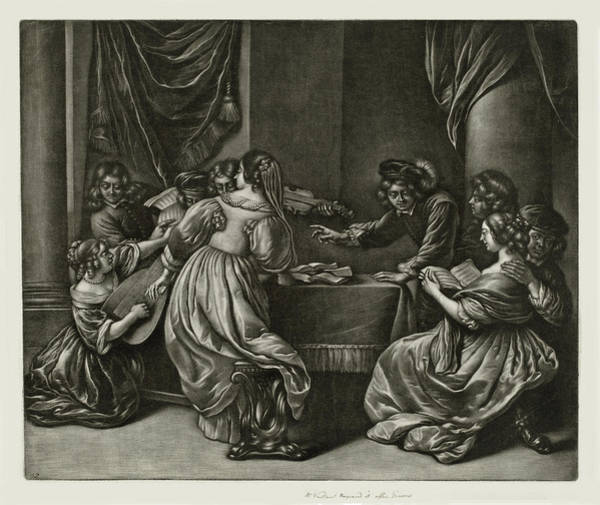 Painting - Concert With Nine Persons by Wallerant Vaillant