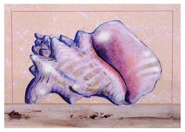 Painting - Conch Shell by Thomas Lupari