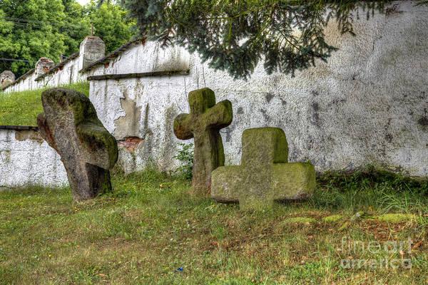 Wall Art - Photograph - Conciliation Cross In Milhostov Village by Michal Boubin