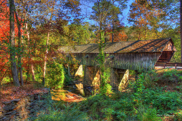 Photograph - Concord Covered Bridge Nickajack Creek Art by Reid Callaway