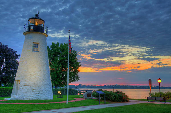 Wall Art - Photograph - Concord Point Lighthouse Sunrise by Craig Fildes