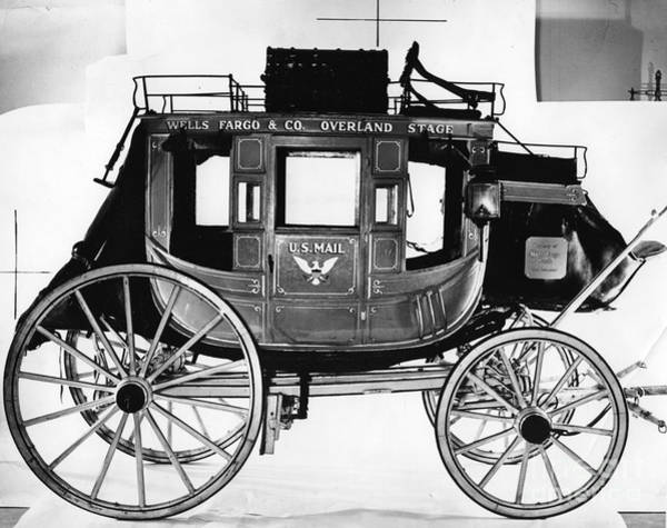 Stagecoach Photograph - Concord Stagecoach by Photo Researchers, Inc.