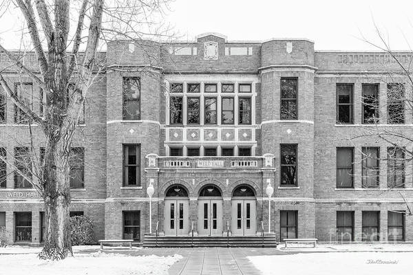 Photograph - Minnesota State University Weld Hall by University Icons