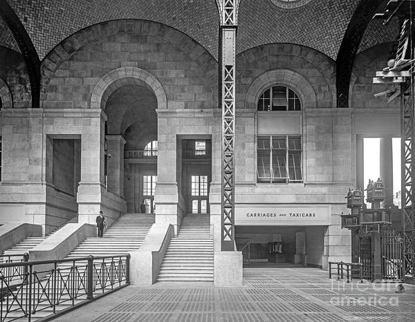 Photograph - Concourse Exit To 33rd St by Russell Brown