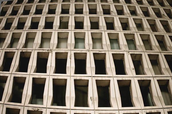 Multi-storey Wall Art - Photograph - Concrete Building Pattern by Tom Gowanlock