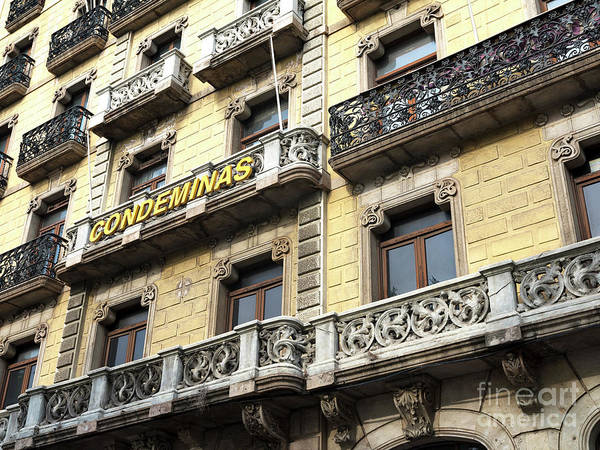 Photograph - Condeminas In Barcelona by John Rizzuto