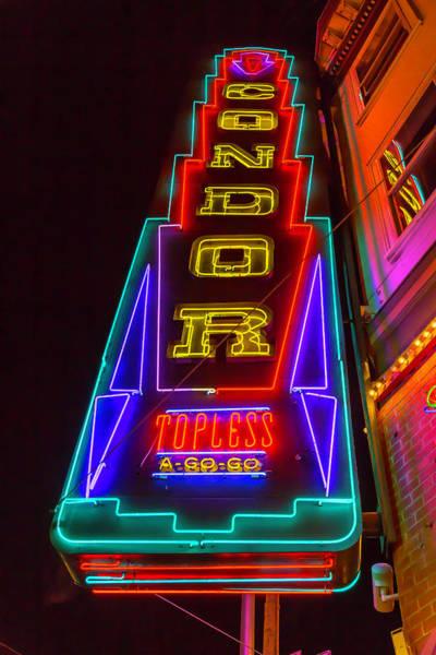 Wall Art - Photograph - Condor Neon by Garry Gay