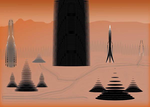 Digital Art - Cone City by Kevin McLaughlin