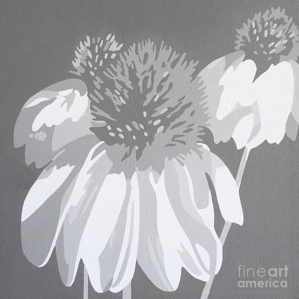 Coneflower Painting - Coneflower Study by Susan Porter