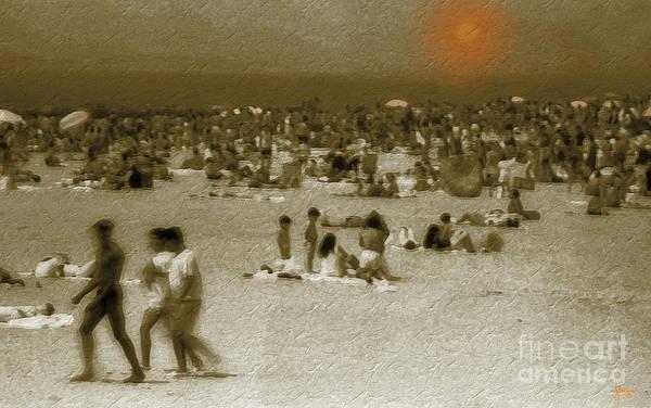 Photograph - Coney Island Beach by Jeff Breiman