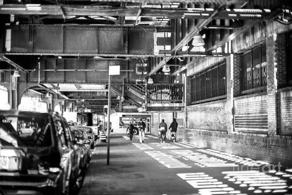 Photograph - Coney Island Shadow Walk by John Rizzuto