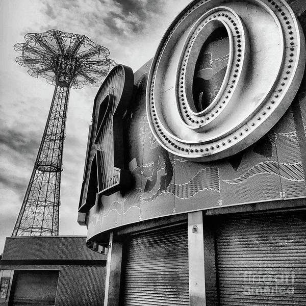 Wall Art - Photograph - Coney Island Usa by HD Connelly