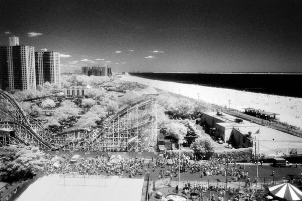 Photograph - Coney Island View 7 by Dave Beckerman