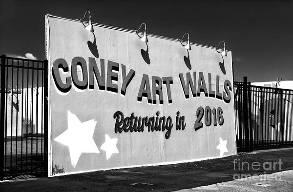 Coney Island Wall Art Returning In 2016 Art Print by John Rizzuto