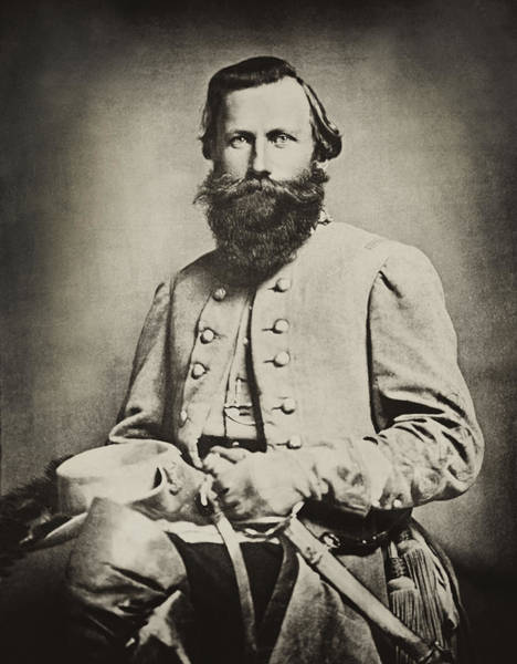 Impression Photograph - Confederate Jeb Stuart by Paul W Faust -  Impressions of Light