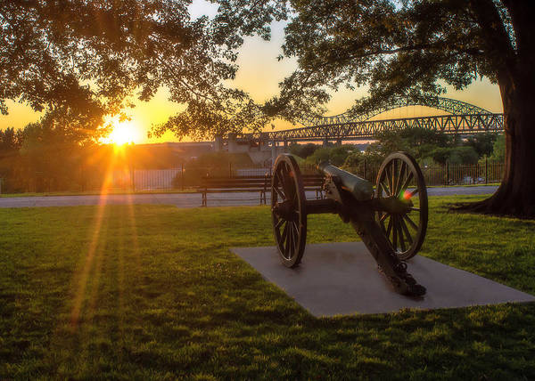 Photograph - Confederate Park, Memphis by Chris Coffee